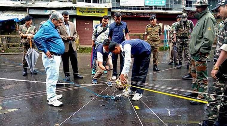 Darjeeling Blast, Darjeeling Talks, Rajnath Singh, Bimal Gurung, India News, Indian Express, Indian Express News