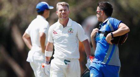 david warner, warner, Darren Lehmann, lehmann, australia vs bangladesh, test tour, Josh Hazelwood, cricket, sports news, indian express