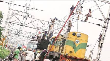 Deccan Queen cancelled today due to powerblock