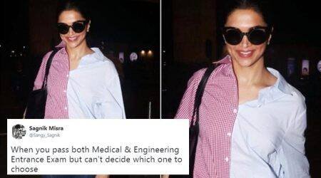 'Side effect of Ranveer Singh': Deepika Padukone's recent airport look is a hit meme
