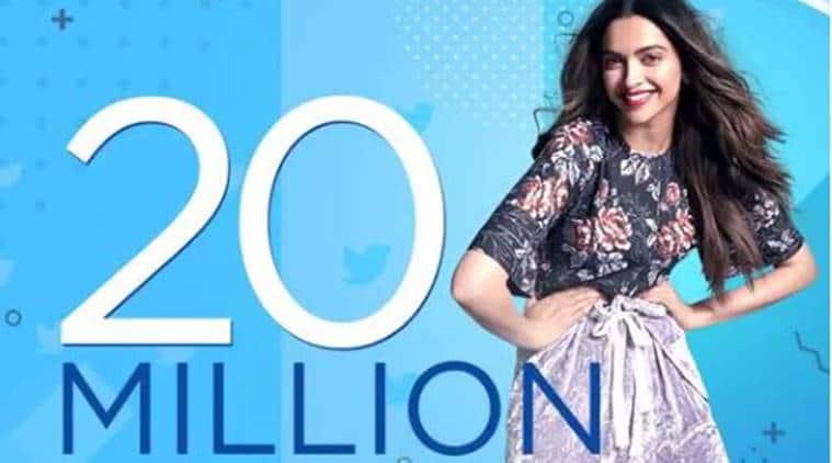 deepika padukone, deepika padukone twitter chat, deepika padukone 20 million followers, deepika padukone pics, deepika padukone photos