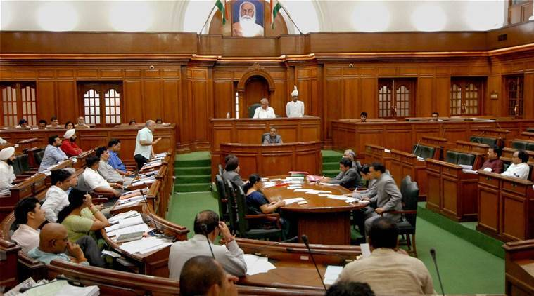delhi assembly, BJP MLAs, Vijender gupta, Manjinder sirsa, delhi assembly session