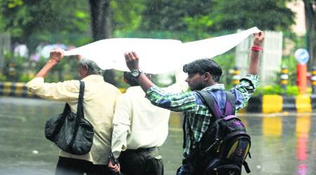 Rakhi rush, broken down buses and a dead camel bring city to halt on rainy Monday