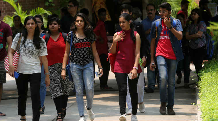 delhi university entrance, delhi university admissions, delhi university first list, du first list, du colleges, du admission, education news