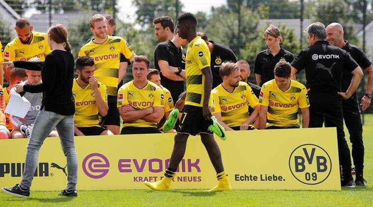Ousmane Dembele, Borussia Dortmund, dortmund, barcelona, dembele, football, sports news, indian express