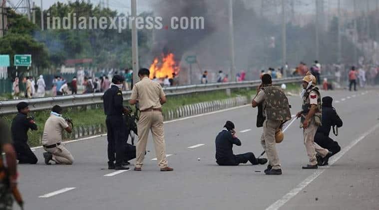 panchkula, haryana violence, dera sacha sauda, ram rahim singh, rape case verdict, haryana dgp, haryana chief secretary, Haryana chief secretary H S Dhesi, haryana police, india news, indian express, indian express news
