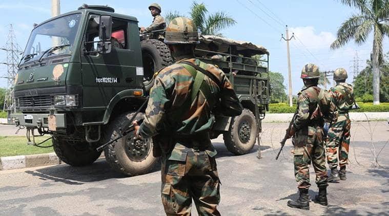 dera sacha sauda, gurmeet ram rahim singh, dera vehicle, dera vehicle abandoned, indian express news, india news