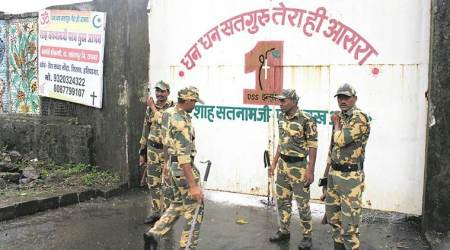 Image result for Sirsa: Security forces starts search operations of Dera headquarters