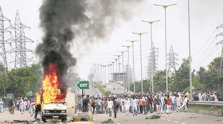 panchkula, chandigarh, dera sacha sauda, rape verdict, haryana riots, indian express