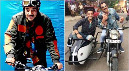 Dharmendra makes social media debut, shares photo from the sets of Yamla Pagla Deewana Phir Se
