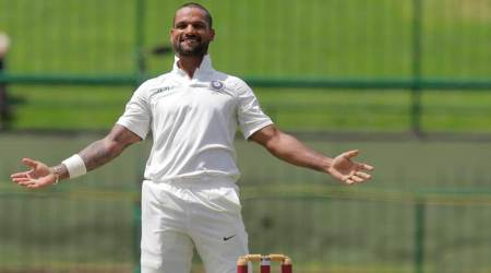 Shikhar Dhawan scores sixth Test century, second in Sri Lanka series