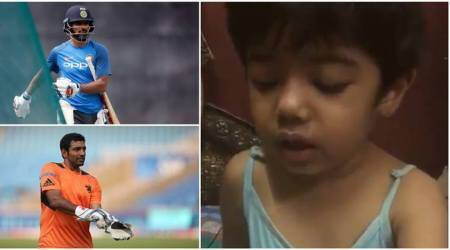 shikhar dhawan, robin uthappa, child parent relationship, child parent education, child parent whatsapp video, cricket news, india news, indian express