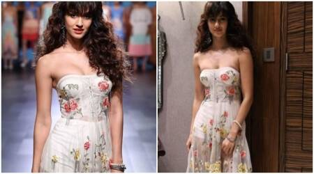 Photos: Disha Patani flaunts her hot looks by turning a white princess