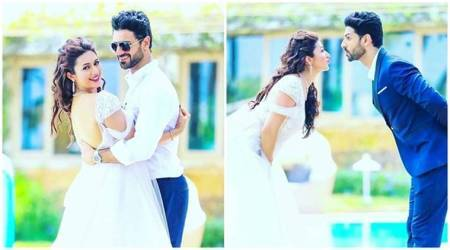 Divyanka Tripathi and Vivek Dahiya prove they are the most adorable couple. See photo