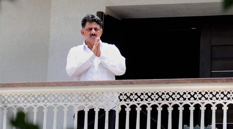 DK Shivakumar, DK Shivakumar IT raid, Karnataka minister IT raid, CRPF, finance ministry on DK Shivakumar IT raid, Karnataka government on CRPF involvment in IT raid