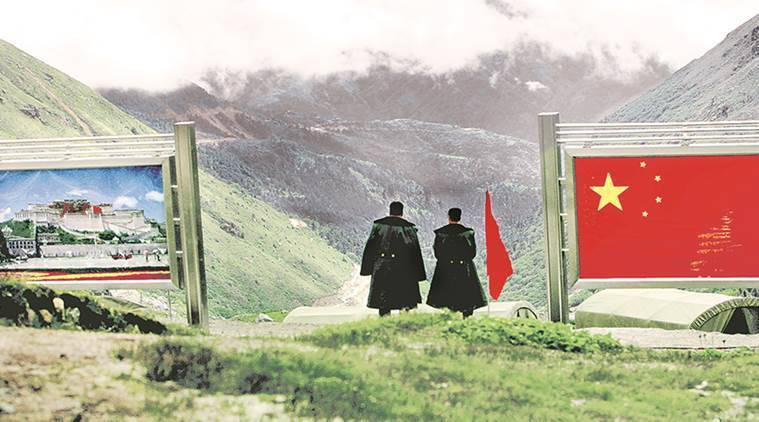 Doklam, Sikkim, China, India, India China doklam, China India doklam, indian express news