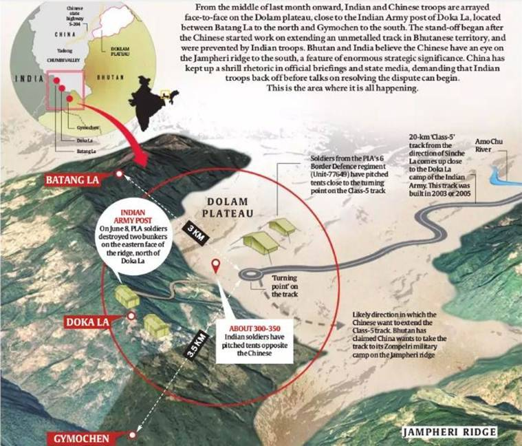 Doklam conflict, India China, Indian Army, Chinese PLA, Border issue, India China conflict, diplomacy, Batang La, OBOR