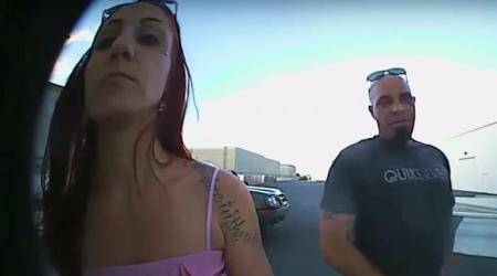 VIDEO: This couple stole a doorbell, which happened to be a CAMERA recording them