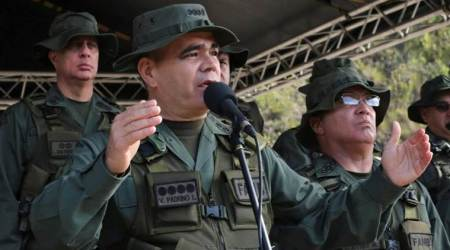 Venezuelan army and militias hold exercises after Donald Trump's warning of 'military option'