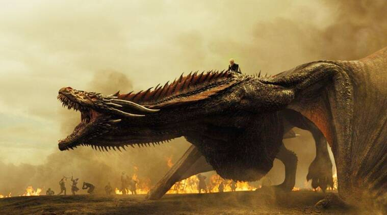 game of thrones, game of thrones episdoe 4, game of thrones episode 4 picture, game of thrones episode 4 screenshot, game of thrones episode 4 drogon