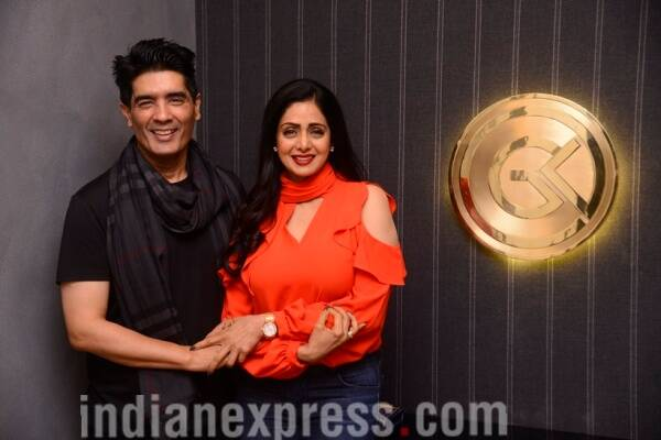manish malhotra and sridevi