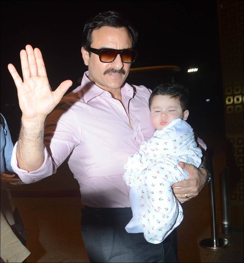 Awwdorable! Taimur Ali Khan's Photos From His First Foreign Trip Are Out!