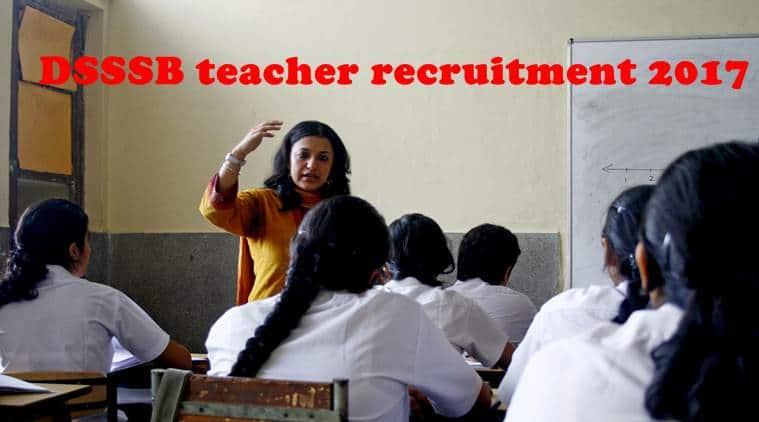 dsssb, dsssbonline, dsssb recruitment 2017