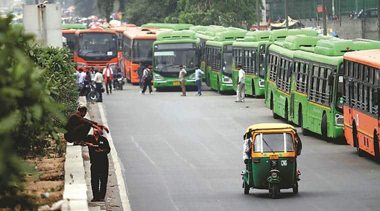 dtc bus, delhi transport corp, delhi lahore bus service, delhi bus services, dera sacha sauda, indian express
