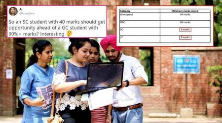 Delhi University announced 'zero' cut-off for SC/ST, and this is how Twitterati reacted