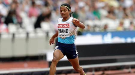 Eight hours of training a day helped Dutee Chand break 100m national record