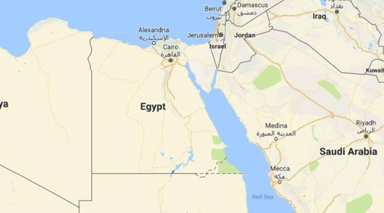 egypt, egypt accident, egypt road accident, egypt bus accident, indian express news