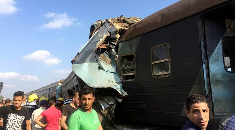 At least 15 people killed in Egyptian traincrash