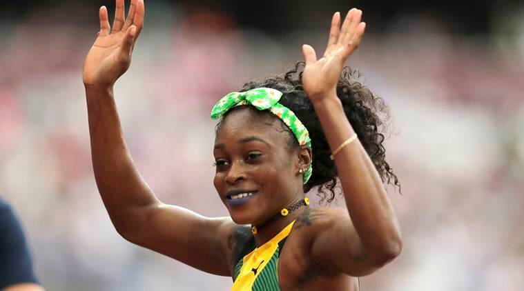 elaine thompson, elaine thompson brazil, torie nowie, dafne schippers, marie-josee ta lou, london world championships, world chmapionships, athletics news, sports news, indian express