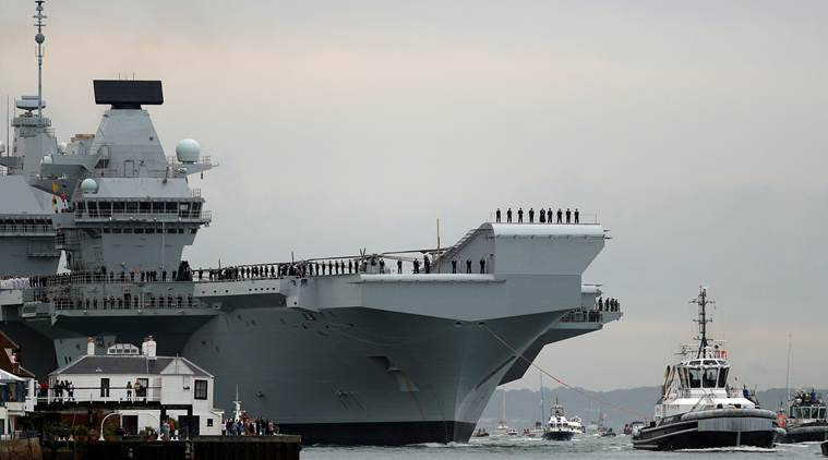What makes Britain's biggest ever warship, HMS Queen ...
