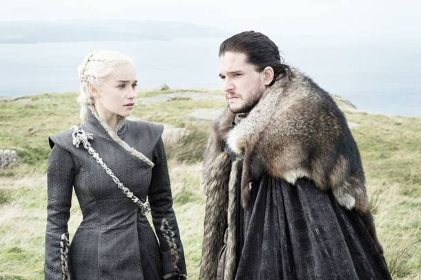 game of thrones, game of thrones season 7, game of thrones season 7 episode 5, game of thrones episode 5 stills, daenerys targaryen, jon snow