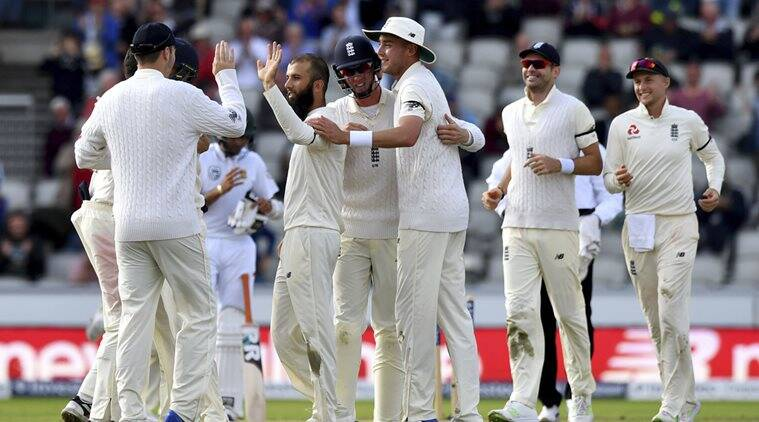 England vs South Africa, Moeen Ali, James Anderson, Faf du Plessis, sports news, cricket, Indian Express