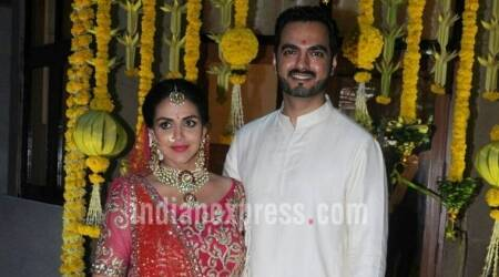 Photos: Inside Esha Deol's baby shower