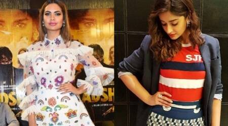 Esha Gupta and Ileana D'Cruz's colourful outfits are instant mood-lifters