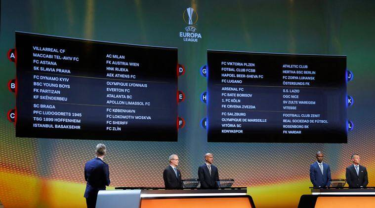 Arsenal, Arsenal Europa League, Europa League draw, Europa League fixtures, Sports News, Sports