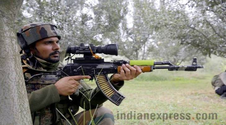 Pulwama encounter, Pulwama militant attack, eighth security personnel dead, Jammu and Kashmir, three militant dead, attack on pulwama Police building, Jaish-e-Mohammad, indian express
