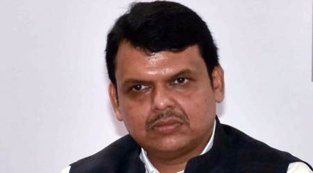Devendra Fadnavis wields broom to give a push to cleanliness campaign