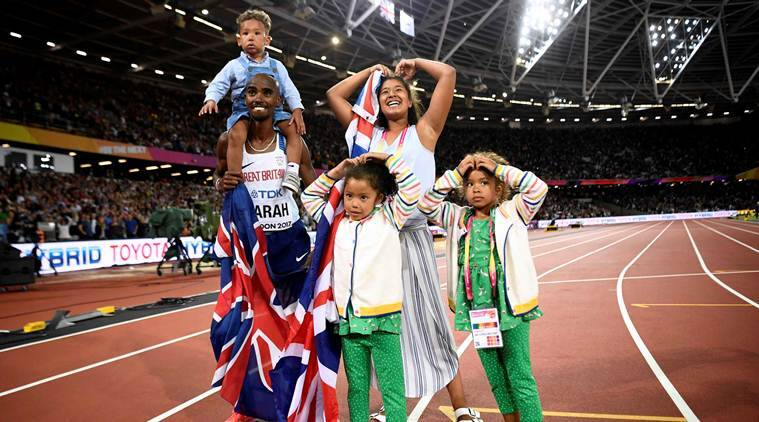 mo farah, farah record, world athletics championships