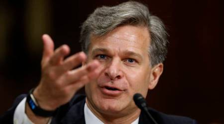 Christopher Wray takes over as new FBI Director