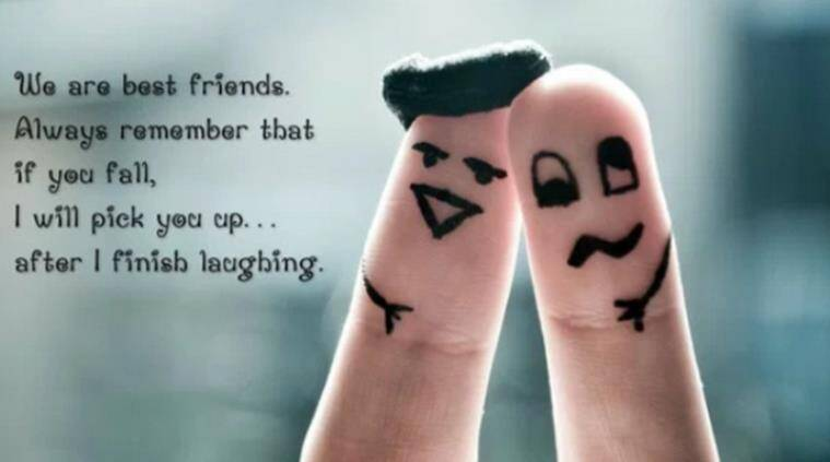Funny Friendship Day Pictures for Whatsapp, Facebook Images for GF/BF