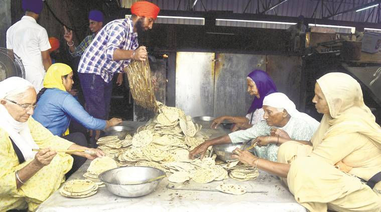 golden temple, golden temple amritsar, golden temple langar, Shiromani Gurdwara Parbandhak Committee, SGPC, gst, goods and services tax, amritsar, punjab, indian express news