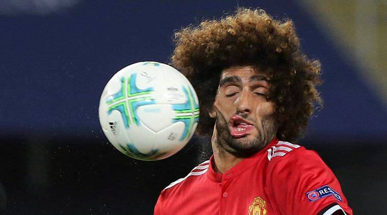 Marouane Fellaini, fellaini, manchester united, fellaini troll, fellaini vial picture, football, sports news, indian express