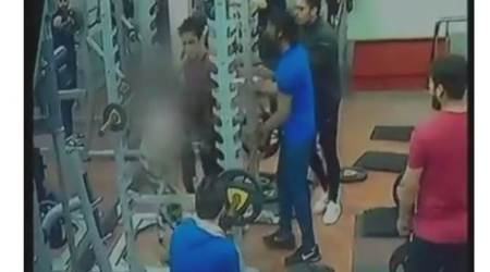 VIDEO: Man booked for assaulting woman after she complains about his behaviour in Indoregym