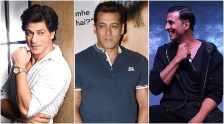 Shah Rukh Khan, Salman Khan and Akshay Kumar make it to the top 10 Forbes list of highest paid actors