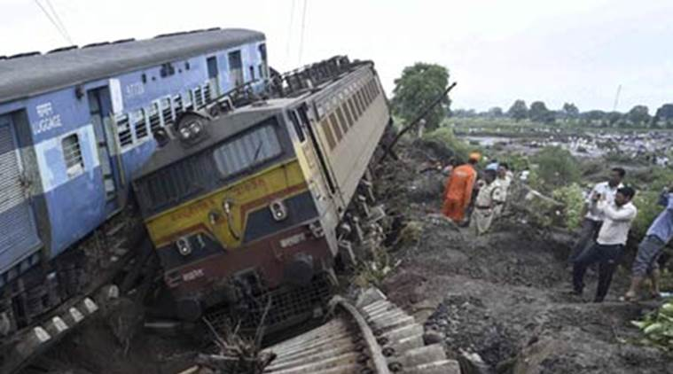 Image result for Boulders hit coaches of Hubli-LTT Express