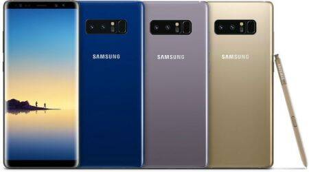 Samsung Galaxy Note 8 launched with 6.3-inch Infinity display, dual cameras